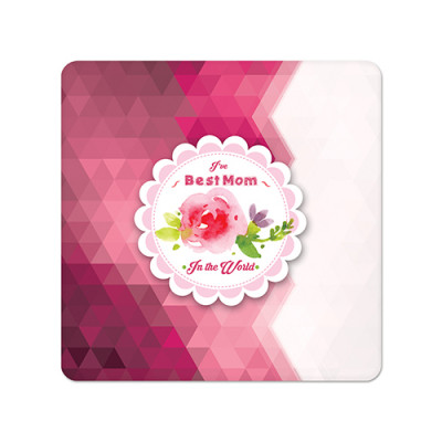 Fridge Magnet Square - Best Mom